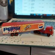 Semi Truck Pepsi Team Vintage From Delivery Driver Rare