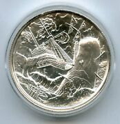 The Whale Privateer Series 2 Oz Silver Ultra High Relief Round Elemetal - Jl645