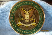 Special Forces Command Fort Bragg Commanding General Presented Challenge Coin