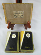 Antique 1920s Army West Point Black Knight Double Deck Collegiate Playing Cards