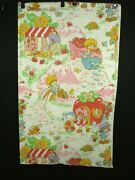 Vintage Strawberry Shortcake Sheets 58 X 93 Full Size American Greetings Corp