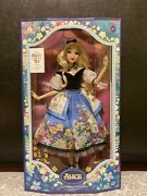 Disney Alice In Wonderland Limited Edition Doll By Mary Blair - 70th Anniversary
