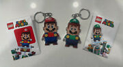 Lego® Super Mario™ And Luigi™ Keychain Vip Set, Sold Out In Hand 🔥