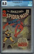 Cgc 8.0 Amazing Spider-man 46 1st Appearance Of The Shocker Oww Pages Spiderman