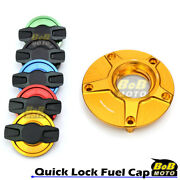 Gold Fcr Quick Lock Fuel Cap For Yamaha Mt-03 Abs 18-19
