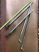 Set Of Two Stainless Lifeline Gate Stanchions