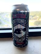 Deftones Belching Beaver Ceremony Limited Edition Hazy Ipa Beer Can Rare