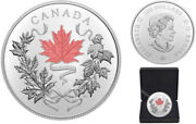 2021 'our National Colours' Proof 100 Fine Silver 10oz. Coinrcm 20086720204