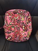 Nwt Disney Parks Vera Bradley Just Mousing Around Small Backpack Purse Pink Minn