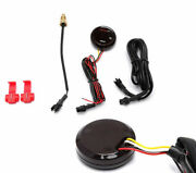 Universal Motorcycle Thermometer Instrument 0-120anddeg Mini Red Led Water Temp Gauge