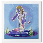 Lu Hong Adolescence Limited Edition Serigraph On