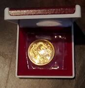 Gold 1988 Singapore Dragon One Ounce 100 Singold 99.9 Pure Gold Coin Ogp
