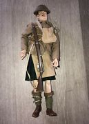 1/6th Scaleww1 British Black Watch Sideshow -andnbspbayonets And Barbed Wire