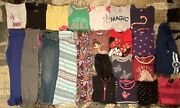 Lot Of 22 Little Girls Clothes Size 6/6x Small Winter Jeans Pants Shirts Nike