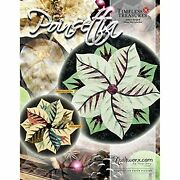 Poinsettia Table Topper Quilt Pattern By Quiltworxmulti
