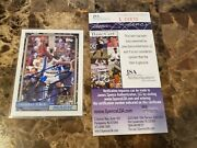 1992 Topps Shaquille Oand039neal Shaq Rookie Card Rc Auto Jsa Authentic Autographed