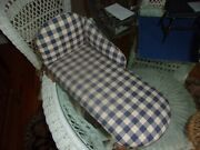 Vintage Tender Art Collection Chaise Lounge/ Fainting Couch