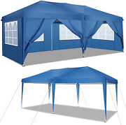 Cobizi Pop Up Canopy Tent With Walls, Outdoor Party Tents With Removable Sidewal