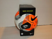 Nike Premier League Official Soccer Match Ball Sc3569-103 Size 5 New In Box
