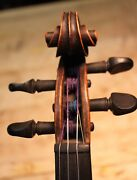 French Violin Salzard 4/4violin 1840 One Piece Flamed Maple Back Antique