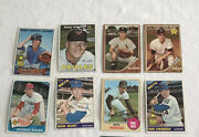 Collection Of 11 Autographed Topps Baseball Cards