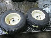 Craftsman Gt  Pair Set Front  Wheels And Tires 16x6.50-8