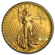 20 Saint-gaudens Gold Double Eagle Cleaned
