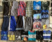 Lot Of 21 Youth Boys Summer Clothes Nike Under Armour Shorts Size Medium 8/10