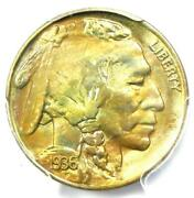 1936-s Buffalo Nickel 5c Coin - Certified Pcgs Ms67 - 1500 Value