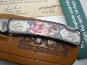 Nos Buck 525 Knife Limited Edition Artist Series Bear River New In Box