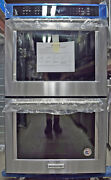 Kitchenaid Kode500ess 30andprime Double Electric Wall Oven Self-cleaning