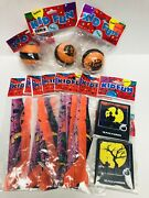 Vintage Lot 11 Halloween Novelty Party Favors Airplanes Yo-yoandrsquos Puzzles Nos