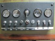 Jaguar E-type, Xke, 3.8, Series 1 Dashboard Console, Also For Mark Ll And Daimler