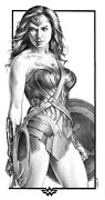 Sexy Pin-up Art Commission Pencil Drawing 18x24 Any Character You Choose