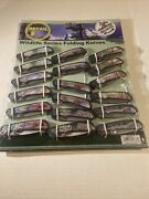 American Wildlife Series, Folding Knives, Frost Cutlery, Display, Lot Of 18, New