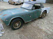 '65 Triumph Tr4 Roadster Parts Car Engine Gearbox Body Chassis Drivetrain Spares