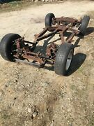 Original Triumph Tr6 Complete Rolling Chassis Rear Differential Suspension
