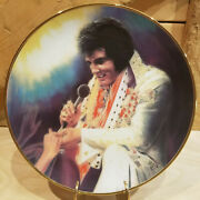 Loving You Elvis Remembered Collector Plate Susie Morton 1987 10 Swanky Barn