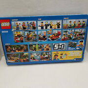 Lego 66559 5 In1 City Figures Ultimate Hero Airport Fire Police Jungle Guard New