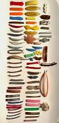 70 Goody Vintage Retro Bar Hair Clip Stay Tight Kiddie Barrettes 1980s + Extras
