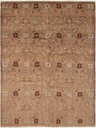 Modern Hand-knotted Carpet 9and0390 X 11and03910 Oriental Wool Area Rug