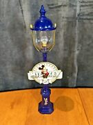Pride Lines Disney Mickeyand039s 60th Street Lamp Rare Excellent Condition