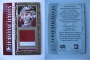 2010-11 Between The Pipes Ilya Bryzgalov 1/1 Franchise Leaders Gold 1 Of 1
