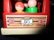 41pcs Vintage Fisher Price Little People 1969 Mini-bus Plus 40 Figures And Chairs