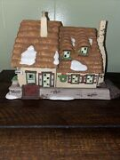 Dept 56 Dickens Village Christmas Carol Cottage Revisited 1996 Bob Mary Cratchit