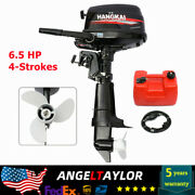 Hangkai 6.5 Hp 4-strokes Outboard Motor Marine Boat Engine W/ Water Cooling Cdi