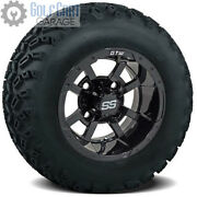 Gtw Storm Trooper Golf Cart Tire And Wheel Combo 22x11-10 Set Of 4 22 Tall