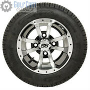 Gtw Storm Trooper Golf Cart Tire And Wheel Combo, 205/50-10 Set Of 4 18 Tall