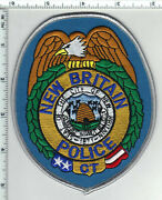 New Britain Police Connecticut 1st Issue Shoulder Patch