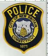 City Of New Britain Police Connecticut Shoulder Patch
